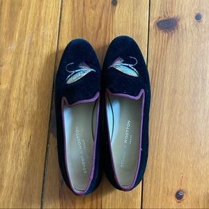 Stubbs and Wootten Flat Loafer Fly Fish Lore Suede